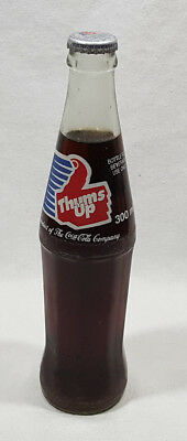 Thums Up 300ml Clear Glass Bottle Unopened From Coca Cola Company