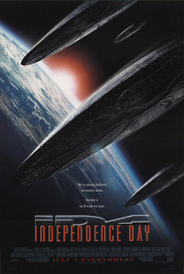 Independence Day 1996 27x41 Orig Movie Poster FFF-24875 Rolled Fine Jeff Gold...
