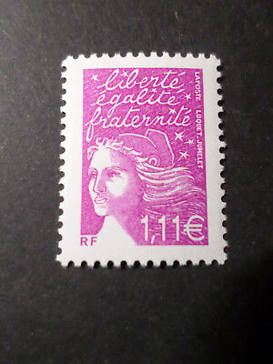 FRANCE 2003 TIMBRE 3574, MARIANNE LUQUET, neuf**, VF MNH STAMP