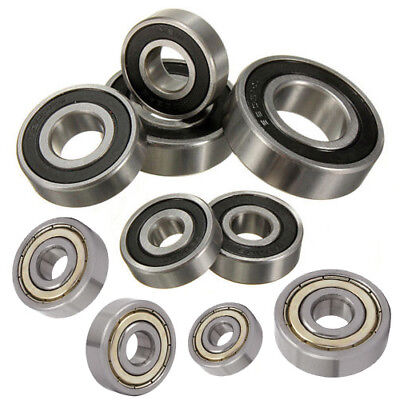 Shielded Deep Groove ZZ 2RS Ball Bearing Roller 6000 6200 6300 6000~6305 Series