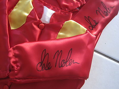 "TYPHOON TRACY Mini Silks Signed by LUKE NOLEN  COA ""SALEEEEEE"""