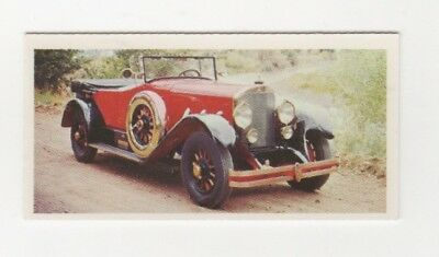 Motor Car Trade Card 1926 Mercedes (Germany)