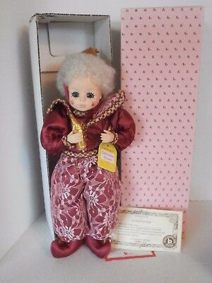 Vintage Clown Doll Brinns January Calender 1988 (New in the box)