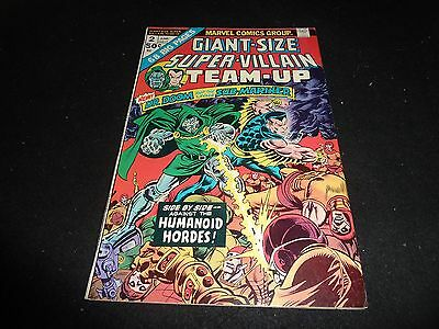 Giant Size Super-Villain Team Up #2 Vf 8.0