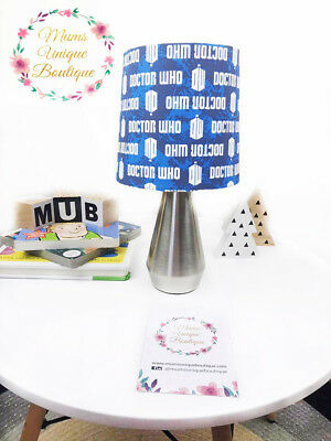 Doctor Who Tardis DW Lamp Children Nursery Table Lamp Night Light Touch Lamp