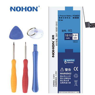 Original Nohon Replacement Battery For Iphone 6 4S 5 5S 6 6S 4 6S Plus With Tool