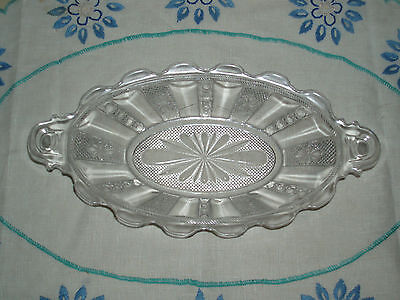 Antique EAPG Victorian Era Relish Pickle Sauce Serving Dish Bowl Circa 1880s