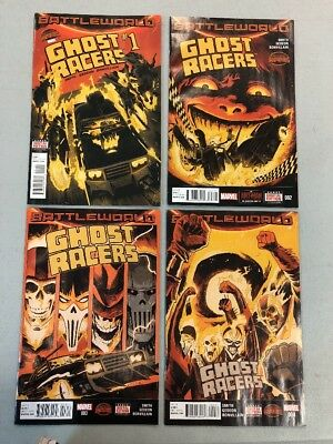 Ghost Racers Complete Set 1-4 Marvel Comics 2015