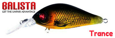 Balista Led Technology Trance 50mm Flashing minnow Trout Lure ; golden guts