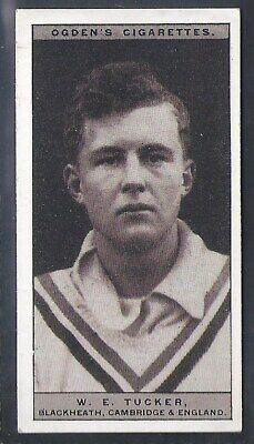 Ogdens-Famous Rugby Players-#09- Blackheath - Tucker