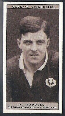Ogdens-Famous Rugby Players-#20- Scotland - Waddell