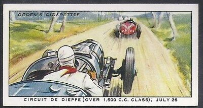 Ogdens-Motor Races 1931-#27- Quality Card!!!