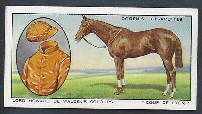 Ogdens-Prominent Racehorses Of 1933-#08- Top Quality Horse Racing Card!!!