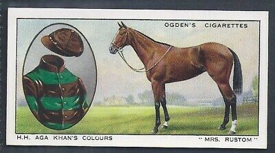Ogdens-Prominent Racehorses Of 1933-#33- Top Quality Horse Racing Card!!!