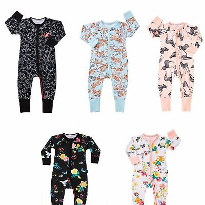 Bonds Baby Wondersuit Zippy Printed Floral Designs Bzbva Sz 0000 000 00 0 1 2 3