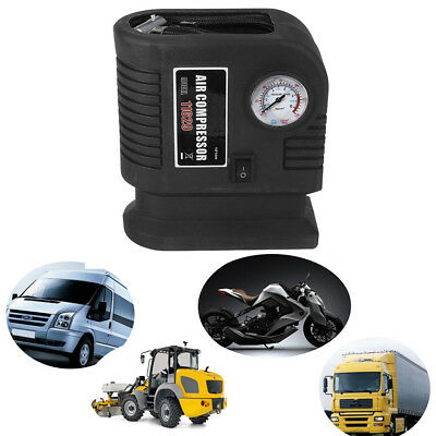 300PSI 12V Portable Black Air Compressor Car Electric Tire Air Inflator Pump Kit