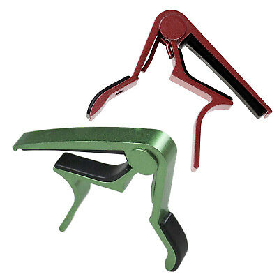 Green Single-handed Guitar Capo Quick Change P9T2