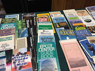 Lot of Vintage Destination Maps Lots of Variety Good Condition