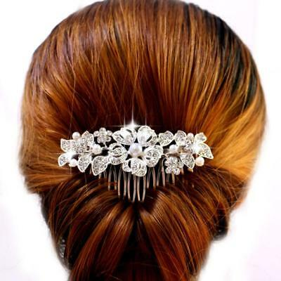 Cute Clear Austrian Rhinestone Crystal Tiara Crown Bridal Prom Pageant