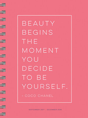 2018 Coco Medium Weekly Monthly Planner