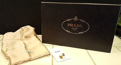 Prada Shoe Box, Dust Bag, extra heel tips for High Heels Sz 38
