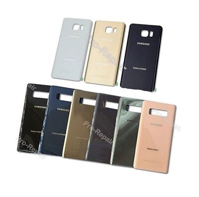 Samsung Galaxy Note 5 Note 8 OEM Battery Glass Back Door Cover Replacement