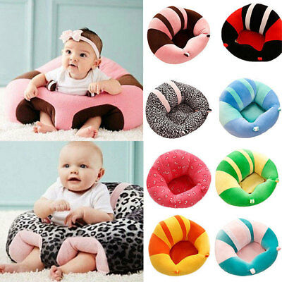 Baby Support Seat Soft Chair Car Cushion Baby Sofa Plush Pillow Toys