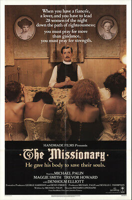 The Missionary 1982 27x41 Orig Movie Poster FFF-29261 Maggie Smith U.S. One S...