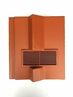 Roof Tile Vent To Fit Redland Delta | Terracotta | 8 Colours | Smooth / Granular