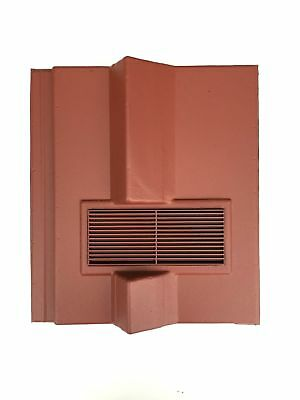 Roof Tile Vent To Fit Redland Delta | Red | 8 Colours | Smooth / Granular