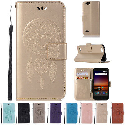 Card Wallet Flip Leather Case Cover For ZTE Tempo X N9137 Avid 4 Blade Vantage