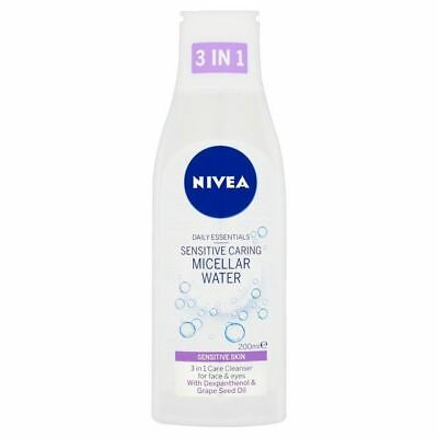 Nivea Daily Essentials Sensitive Micellar Cleansing Water 200ml 1 2 3 6 12 Packs