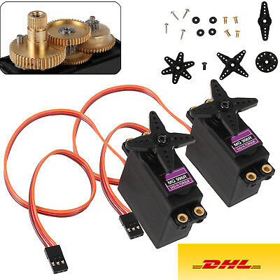 2x Digital Metall Gear RC MG996R Lenk Servo 55g 15Kg Upgrade MG945 aRC-Universe
