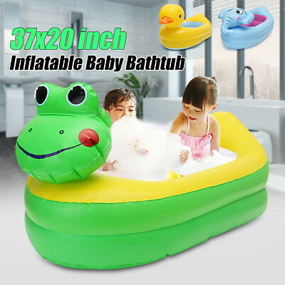 Inflatable Safety Newborn Baby Bath Tub Showr Floating Toy Travel Swimming Pool