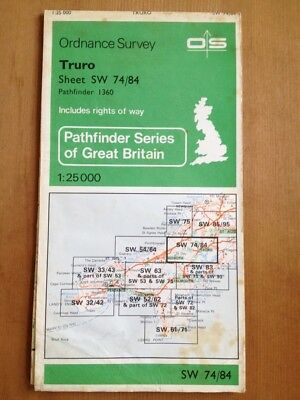 OS maps of west Cornwall 1970/80s. 1:25,000. Collectors?