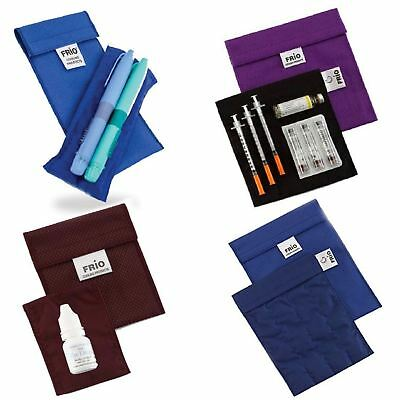 Frio Medical | Cooling Duo Small Large Wallet Blue Purple Eye Drop Wallet |