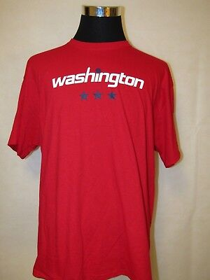 NBA Washington Wizards XL Printed Throwback Logo Tee by Custom Ink