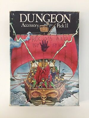 Advanced Dungeons & Dragons D&d Rpg Accessory Pack Gaming Aid Runequest D20 Tsr