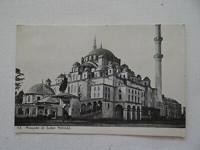 AK Istanbul Moschee Sultan Mehmed