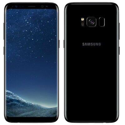samsung galaxy s8 plus midnight black sm-G955F 64gb (unlocked)