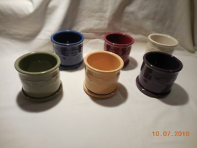 Longaberger Woven Traditions One Pint Salt Crock w/Lid - New in box - USA
