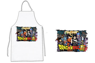 DELANTAL DB SUPER LOGO BLACK SAGA APRON html