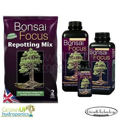 Bonsai Focus - Nutrients And/Or Compost - Premium Quality