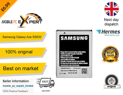 Original  High Quality Samsung Galaxy Ace GT S5830 Replacement Battery