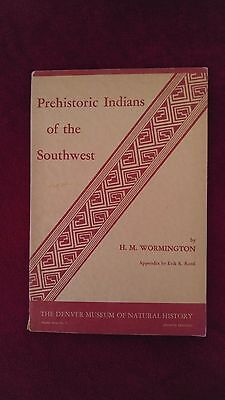 Prehistoric Indians of the southwest museum history rare collectible archaelogy
