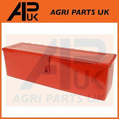 Tractor Tool Box Massey Ferguson Plough Zetor Universal 420x115x100 mm Lockable
