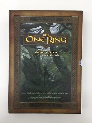 The One Ring Roleplaying Rpg D&d Tsr Adventures Over The Edge Of The Wild W Dice