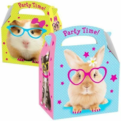 Pets Favours Party Box Animals Birthday Party Favour Bags
