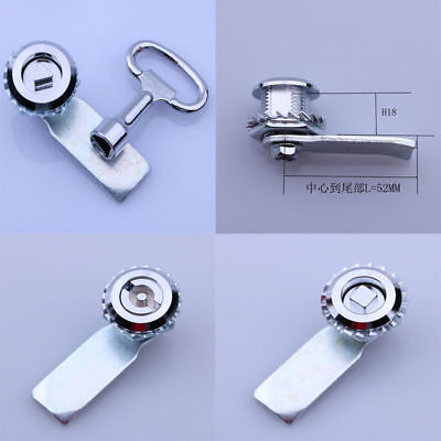 Rotary Lock Cylinder For Industrial GGD PS MSN Cabinet Square Triangle Linear CA