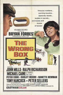The Wrong Box 1966 27x41 Orig Movie Poster FFF-62365 Fine James Villiers